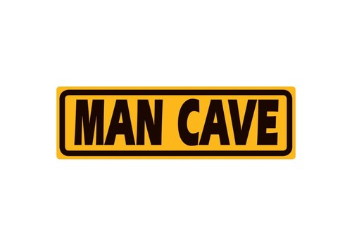Ande Rooney Man Cave Marker Tin Sign