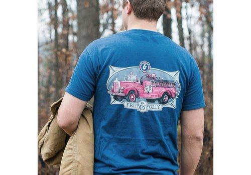 Fripp & Folly Fripp & Folly Vintage Fire Truck SMALL