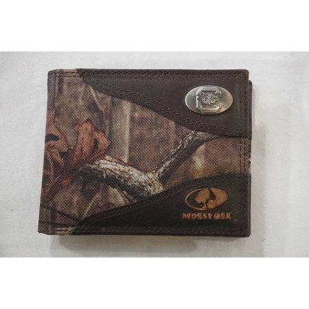 Zep Pro Mossy Oak Nylon / Leather USC Bifold Wallet