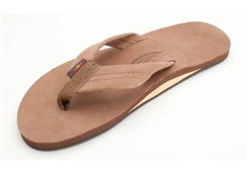 Rainbow Sandals Men's Rainbow Premier Leather Dark Brown