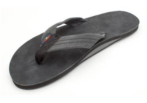 Rainbow Sandals Men's Rainbow Premier Leather Black