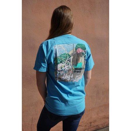 Sky's the Limit Saphire Short Sleeve T-Shirt