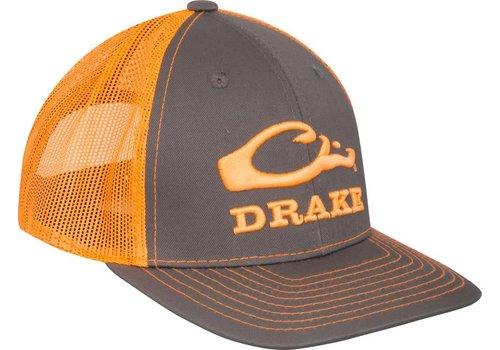Drake Drake Logo Mesh Charcoal & Orange