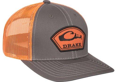 Drake Drake Arch Patch Charcoal & Orange