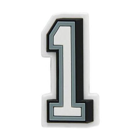 Jibbitz B&W Number 1