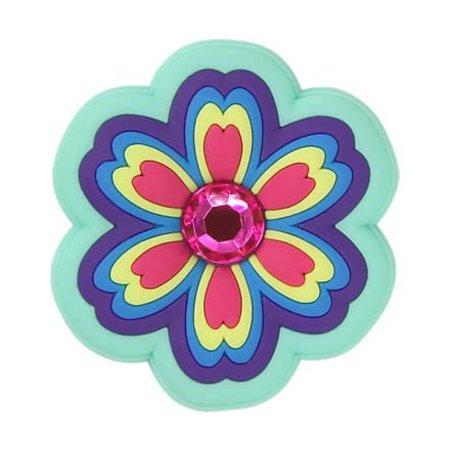 Rhinestone Rainbow Flower