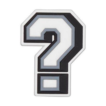 Jibbitz Question Mark