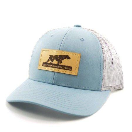 Pointer LP Blue | Alum hat