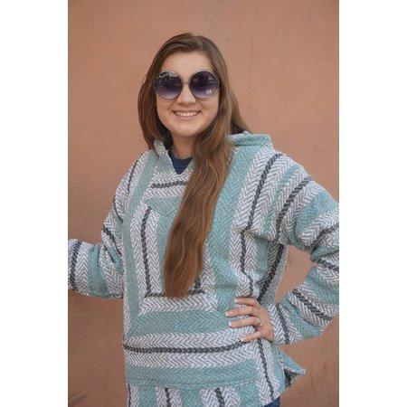 Baja Pullover Hoodie Pastel Mint