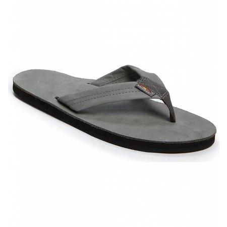 Men's Rainbow Premier Single Layer Leather Grey
