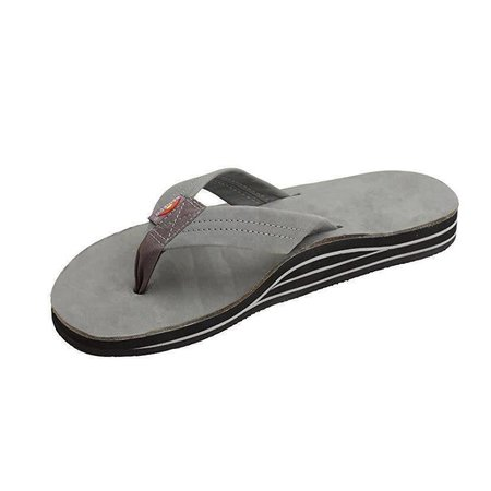 Men's Premier Double Layer Leather Grey