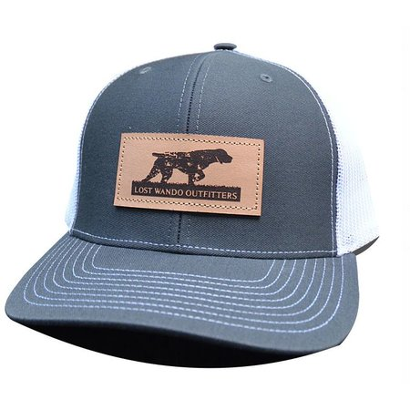 Pointer LP Charcoal | White Hat