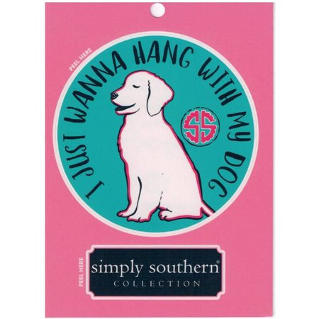 Hang With My Dog Sticker