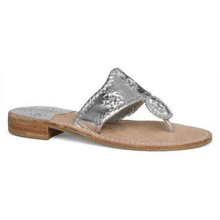 Hamptons Sandal Silver