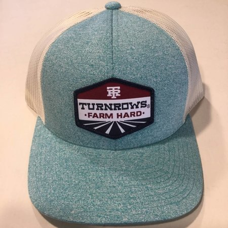 Farm Hard Diamond Teal Hat