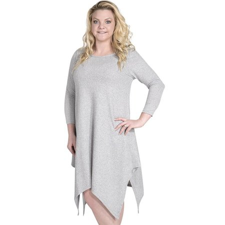 Augusta Dress Heather Grey