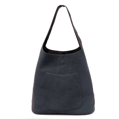 Dark Navy Molly Slouchy Hobo Handbag
