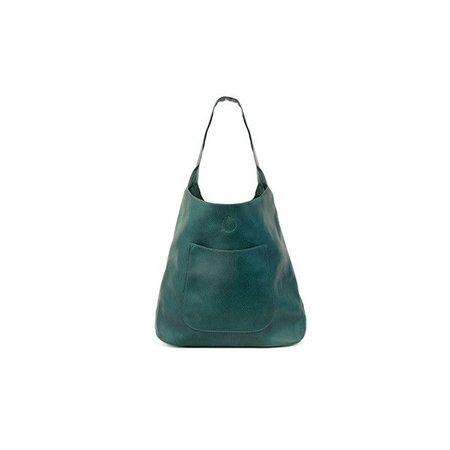 Dark Teal Molly Slouchy Hobo Handbag