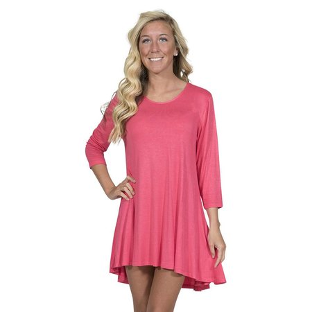 Tunic Top Coral