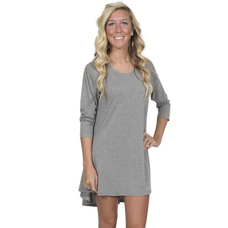 Tunic Top Heather Grey