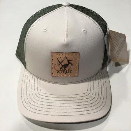 Leather Patch Khaki - Loden Hat