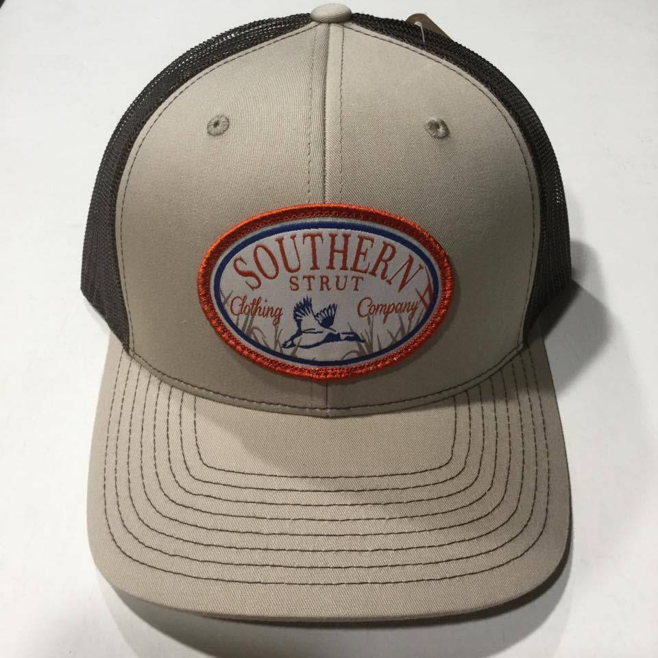0fcc19ea96c Southern Strut Duck Patch Khaki - Coffee Hat - Papa s General Store