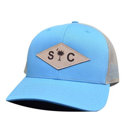 SC Diamond Blue | Khaki Hat