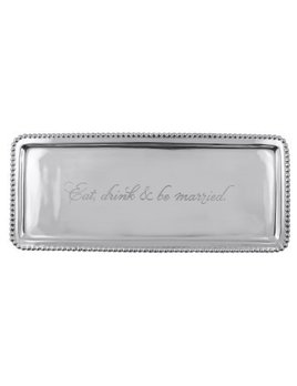 Eat Drink Be Married Tray