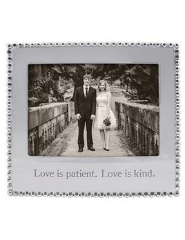 Love is Patient Love is Kind 5x7 Frame