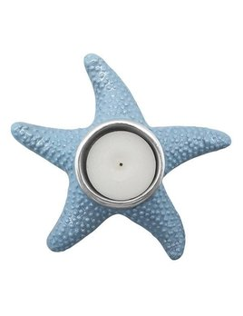 Blue Starfish Tea Light