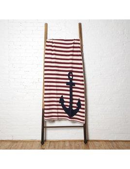 Throw Anchor French Stripe