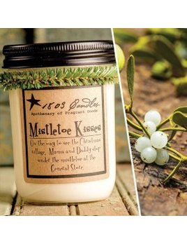 Mistletoe Kisses Soy Candle