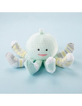 Baby Socks Octopus Green
