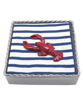 Lobster Twist Beaded Napkin Box