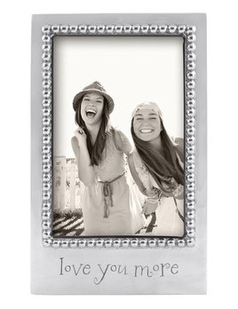 Love You More 4x6 Frame