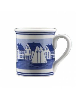 Sailboat Village Mug