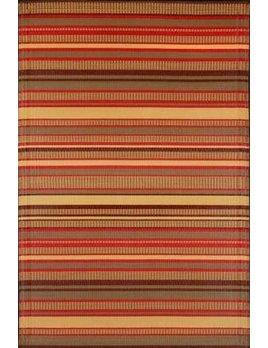 Stripes Warm Brown