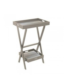Taupe Eco Poly High Tray Stand Set