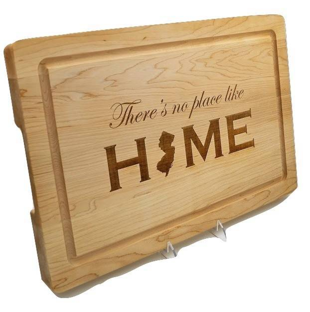 There's No Place Like Home Cutting Board12x18