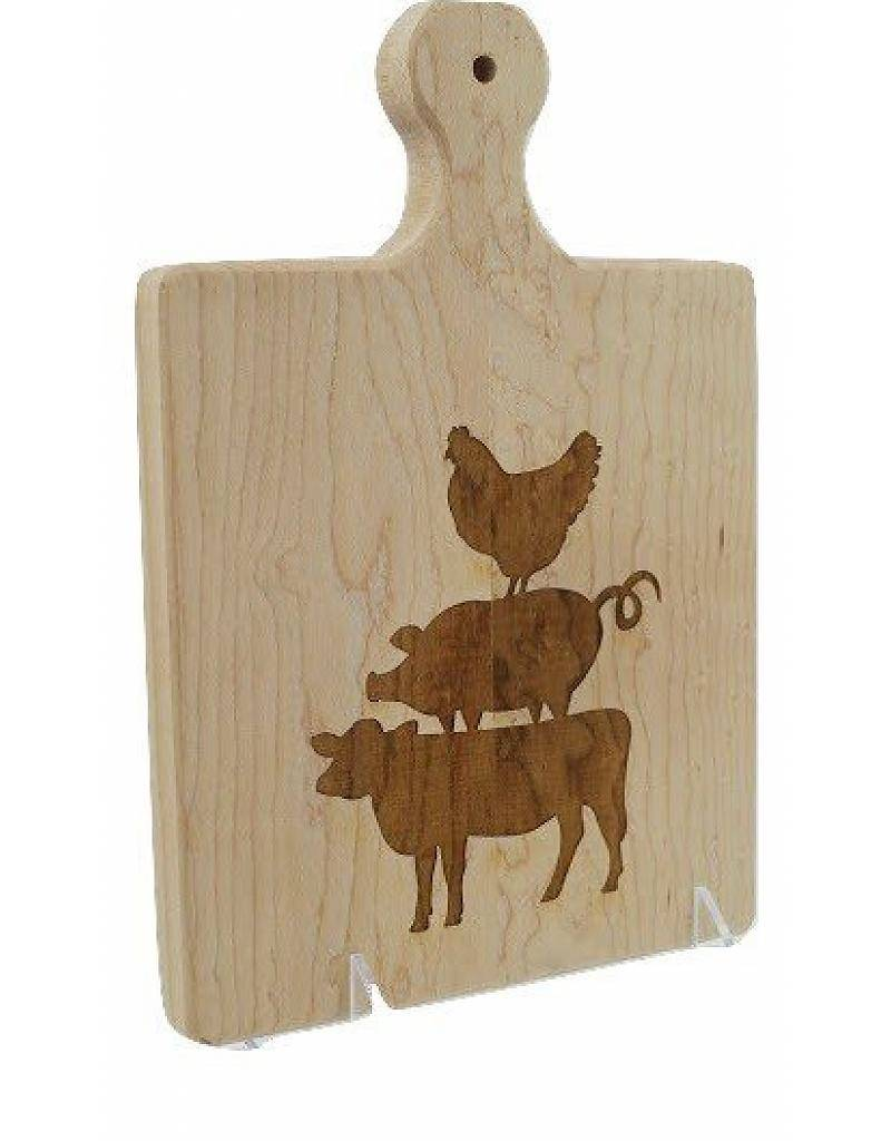 9x6 Artisan Custom Cutting Board