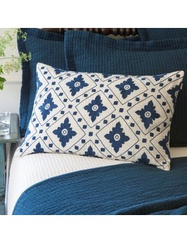 linnea indigo pillow
