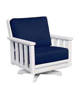 Swivel Arm Chair Deep Seating