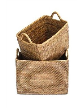 Brown Large Nested Baskets