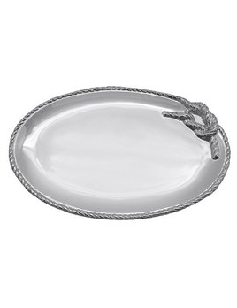 Rope Medium Oval Platter