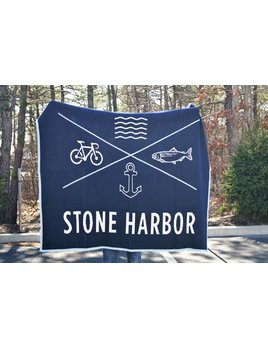 Stone Harbor Throw