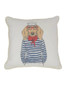 Lab Sailor Pillow