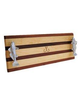 Hooks Crossed Serving Board
