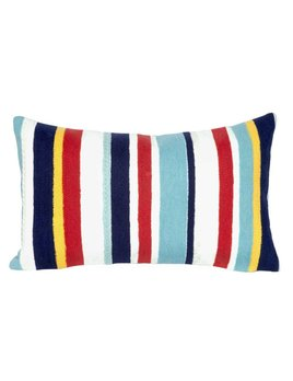 Multi Riviera Stripe Pillow