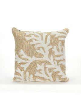 Neutral Coral  Pillow
