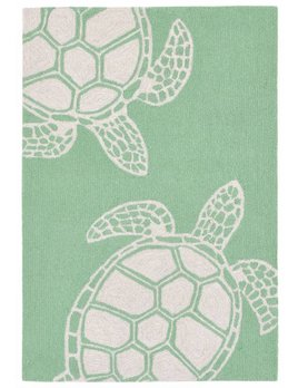 Green Turtle Capri Rug